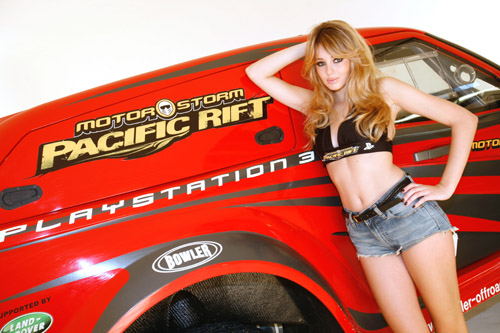 Sony and Keeley Hazell bomb video game PR back to 1986