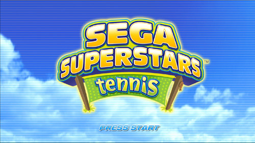 SEGA Superstars Startup EXCLUSIVE