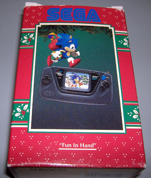 UK:RESISTANCE: CHINESE SEGA GAME GEAR CHRISTMAS DECORATION