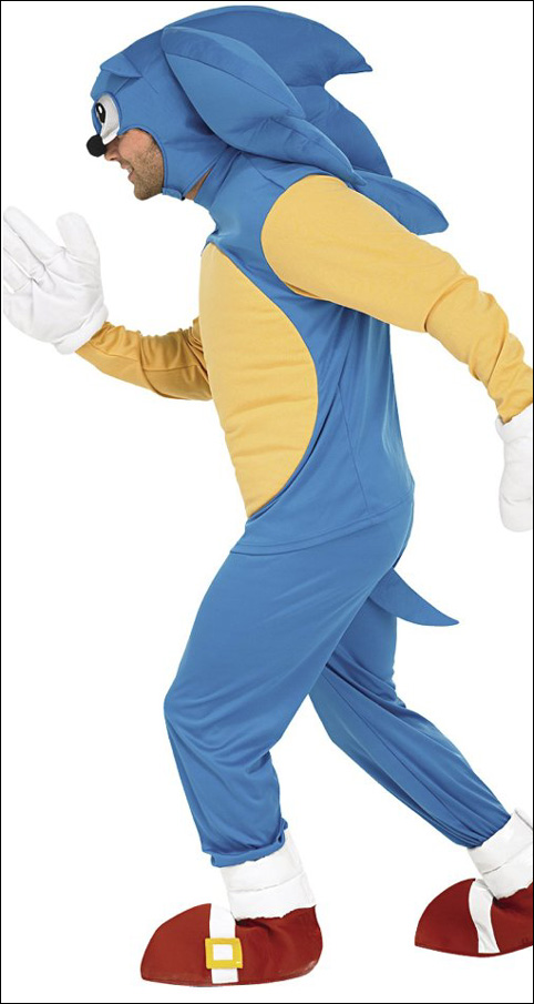 marshall ward sonic costume 2