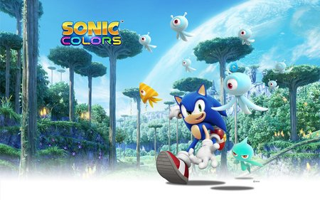 sonic colors desktop