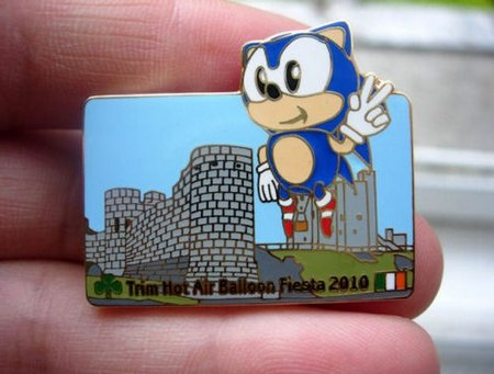 sonic fiesta badge