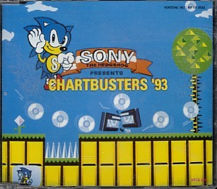sony the hedgehog chartbusters 93